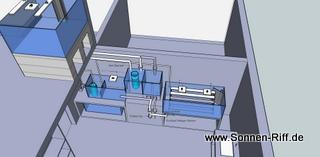 Beckenplanung Raumteiler Wohnzimmer